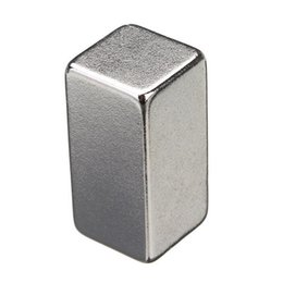 Wholesale Neodymium Fridge Magnets - Low Price 1Pc Strong Block Fridge Magnet Rare Earth Neodymium NdFeB 20x10x10mm Fridge N35 Magnets