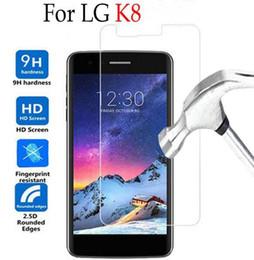2019 billige bildschirme Günstige 2.5D Premium Hartglas Displayschutzfolie für LG G2 / G3 / G4Mini X-CAM S-SCREEN Schutzfolie für LG X Stil X MAX F350 LS775 rabatt billige bildschirme