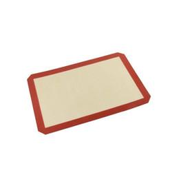 Horno de fibra de vidrio para hornear de calidad alimentaria Horno de silicona para hornear Forro Macaron Mat para hornear Mat 21.59 Cm X 29.21 Cm desde fabricantes