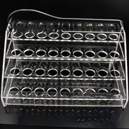 Wholesale Drip Bottle E Cig - Acrylic e cig display case electronic cigarette stand shelf holder display rack for e cigarette ego battery ecig drip tip e liquid bottles
