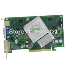 Wholesale Nvidia Nf - 100% New NF 7300GT AGP 512MB 128BIT DDR2 S-Video VGA DVI Video Gaming Card compatible with Windows 7