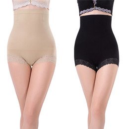 Wholesale Shapewear Seamless Brief - Wholesale-Hot Body Shapers Seamless Women Brief High Waist Trainer Belly Control Shapewear Pants Shorts