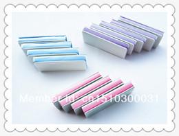 Wholesale Shine Buffer - Wholesale- 20 pcs magic nail buffer for nail shining nail polishing file high quality manicure tool free shipping