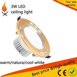 Wholesale Light Powered Items - 30pcs lot 3W high power LED ceiling Light Source and Bulb Lights Item Type LED light bulb