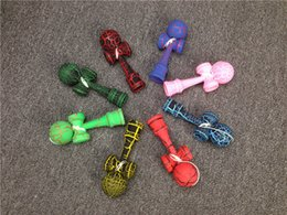 Wholesale japanese kendama ball wholesale - Kid Funny Kendama Skill Ball Japanese Traditional Sword Ball Wood Game Ball Educational Toy Gifts