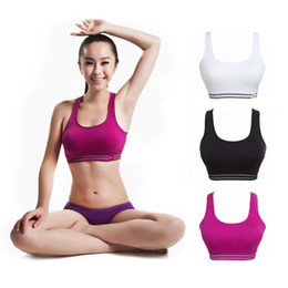 Wholesale Sports Bras Plus Size Wholesale - Wholesale-Women Full Coverage Traceless Sports Bras Plus Size Sporting Tops Vest Padded Sport Bra