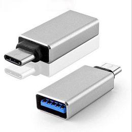 Wholesale Usb C Adaptor - Super Speed USB 3.1 Type-C Male to USB3.0 OTG Female Adaptor for Macbook OPP bags