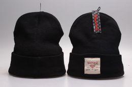 Wholesale black white diamond beanie - 2016 fashion Hot Sale winter Hat Cap Beanie wool knitted men women Caps hats diamond embroidery Skullies warm Beanies Unisex free shipping