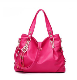 Wholesale Wild Fashion Hand Bags - 2016 summer models wild influx of European and American fashion handbags shoulder bag middle-aged woman hand bag big bag diagonal
