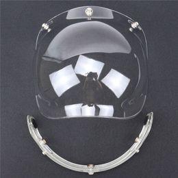 Wholesale Vintage Motorcycle Glasses - 2016 New LS2 BEON TORC motorcycle helmet visor retro 3 snap bubble shield helmet shield open face vintage helmets glasses windshield