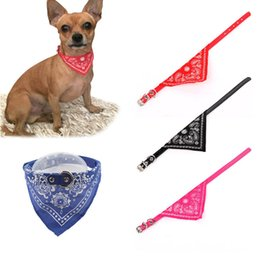 Wholesale Necktie Collar - Adjustable Pet Collar for Dogs Puppy Scarf Dog collar Lovely Tie Necktie Bandana Quality Pet Cats Dog Accessories Supply 50