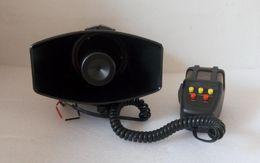 Sirenas de moto online-Alta potencia DC12V, amplificadores de alarma de advertencia de sirena de motocicleta para automóvil de 100 W con 5 tonos de micrófono para la policía, ambulancia, camión de bomberos