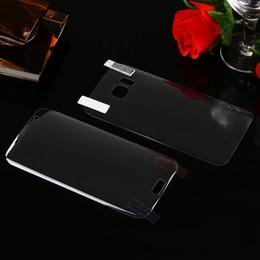 Para Galaxy Note 9 S9 S8 / Plus / S7 / S6 edge 0.1MM 2in1 3D Curva curvada Protector de pantalla PET Cubierta completa Superficie Doblando Frontal + Volver Paquete de película desde fabricantes