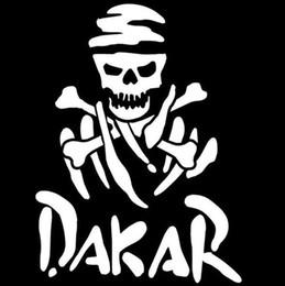 2019 carro dakar DAKAR Rally Racing Fun Etiqueta Do Carro Decalque Da Motocicleta Car Styling Preto / Branco carro dakar barato