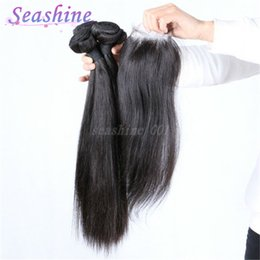 Canada Virgin Straight Hair Bundle Sales Closure Supply, Virgin ...