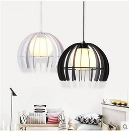Wholesale Commercial Coffee - Hot sell Indoor decorative modern pendant lamp E27 nordic simple Iron lamp dining room bar counter coffee house decorate commercial lighting