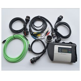 Wholesale Mercedes Benz Diagnostic Tool C4 - High Quality MB Star Diagnose SD Connect SD C4 Multiplexer with Cables For Mercedes Benz Diagnostic Tool