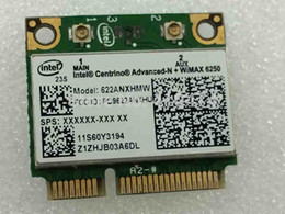 Wholesale N Express - Wholesale- NEW for Intel Centrino Advanced-N WiMAX 6250 622ANX MINI PCI-E Wlan WIFI Wireless Card for IBM T410 T510 X201i X220 FRU:60Y3195