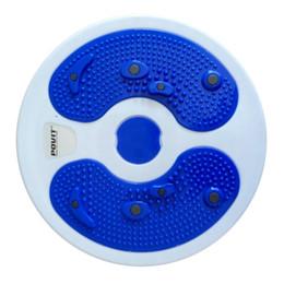 Wholesale Magnetic Figures - Wholesale- Magnetic Twist Boards Waist Slim Foot Massage Twisting Disc Figure Trimmer Multifunction Magnet Balance Rotating Board