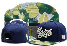 Wholesale Men S Snapback Hats - New brand C&S MOJITO MADNESS CAP Green lemon baseball cap snapback hat for men women hip hop adult sun active cap