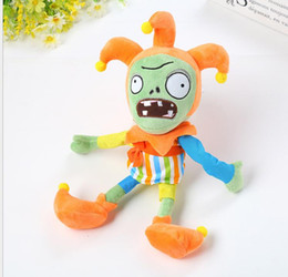Wholesale Dolls For Halloween - 30cm Plants vs Zombies Plush Toys Soft Stuffed Toys 30cm DIY PVZ Zombies Plush Toy Doll for Kids Children Xmas Halloween zombie Gifts
