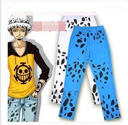 Wholesale One Piece Trafalgar - Wholesale-ONE PIECE Trafalgar Law cosplay pants