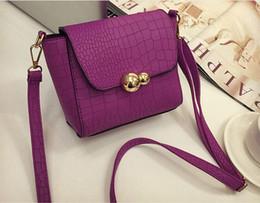 Wholesale Hard Leather Pouch Patterns - 2016 Hot women handbag stone pattern style PU leather handbag messenger bag shoulder bag high quality bolsas pouch