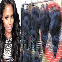 Wholesale Cheap Real Human Hair Weaves - Real human Unprocessed 7A Grade 7A Peruvian Loose Wave Hair tip quality Hair Weaving Cheap human Peruvian Loose Wave Hair