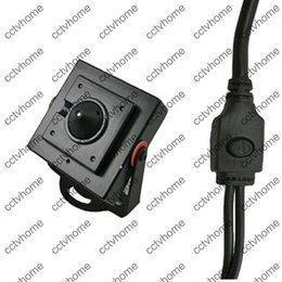 Wholesale Hidden Security Systems - HD CMOS 1000TVL 2.5mm pinhole Wide Angle Lens OSD Security Mini Hidden Camera for FPV System