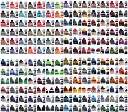 Wholesale Protection Baseball - Wholesale winter beanies All Team baseball football basketball beanies sports team Women Men popular fashion winter knit hat free shipping