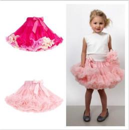 Wholesale Dance Blouses - Fashion Fluffy Chiffon Pettiskirts tutu Baby Girls Skirts Princess skirt dance wear Party clothes new brand