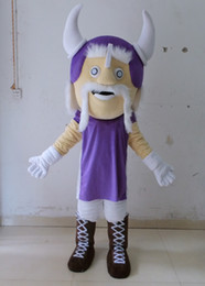 Wholesale Mascot Viking - hot sale 100% positive feedback viking mascot costume Halloween party mascot costume for adult to wear