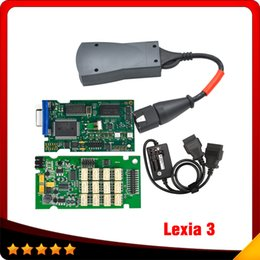 Wholesale Greek S - DHL free shipping lexia 3 PP2000 diagnostic scanner with S.1279 cable 2016 hot selling lexia3 citroen peugeot