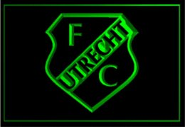 Wholesale Light Football Neon Signs - FBHL-01 FC Utrecht Dutch football Logo ADV LED Neon Light Sign Cheap sign vinyl High Quality signs of