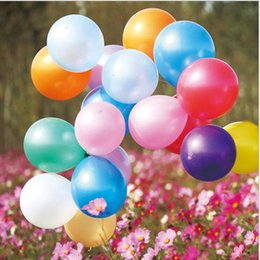 Wholesale Toy Balloon Festival - Promotional kids amusement toy balloons all celebrations festival and advertising toy use latex balloons with various colors