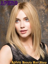 Wholesale Wig 22 613 Blonde Mixed - Bob Haircut 27# Mix 613# Blonde Human Hair Glueless Full Lace Wigs 130% Density Short Brazilian Hair Silk Top Front Lace Wigs Sale