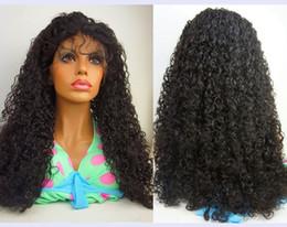 Wholesale Brazillian Hair Lace Wigs - Best Quality Brazillian Long Kinky Curly Lace Front Human Hair Wigs Glueless Lace Front Wigs Wavy For Black Women Freeship