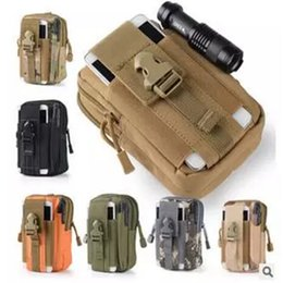 Wholesale Large Military Style Backpacks - New Sport Casual Tactical Military Outdoor Belt Molle Waist Bag Men's Sport Casual Waist Fanny Pack Phone case Camping Hunting Bags