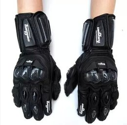Wholesale Nylon Leather Gloves - Super Furygan afs10 motorcycle Riding gloves road racing glove cycling glove Genuine leather gloves Carbon