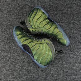 Wholesale Cheap Foams Shoes - New PENNY HARDAWAY Foam in Dark Stucco Men Basketball Shoes cheap price top quality Sports Sneakers mens shoe Drop Shipping