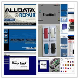 Wholesale Mazda Size - Alldata 10.53 Repair Software+Mitchell on Demand 5.8 +Heavy truck diagnostic software 27 in 1 HDD Size 1000GB