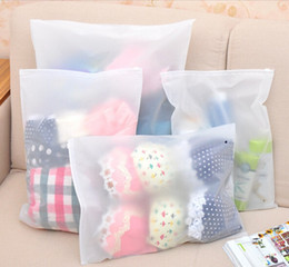 Wholesale Thicker Dress - Thicker Waterproof Transparent Travel Storage Bag Cloth Dressing Bag