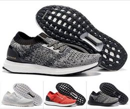 Wholesale Men Barefoot Running Shoes - New Ultra Boost Uncaged Women & Men Running Shoes Outdoor Barefoot Femme & Homme Trainer Walking Sneakers Size 36-45 Eur