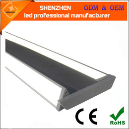 Wholesale Can Cooler Warmer - new design 40w LED linear light double wing led panel light 20w each can rotate high performance office lighting