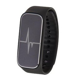 Wholesale Step Count - 37 Degree L18 Smart Wristband With Heart Rate Monitoring Steps Counting Mood Sleep Sports Tracker Bluetooth 4.0 Band Waterproof