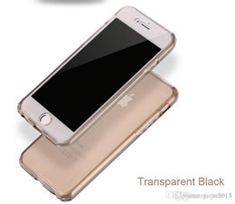 Wholesale I Phone Silicon - 360 degree full Complete cover front back soft TPU i phone cases 6 6s plus Crystal Clear Transparent Silicon Ultra Thin