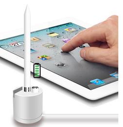 En gros de haute qualité en aluminium 2 dans 1 support de charge avec support de téléphone pour Apple Pencil Dock Station de charge pour support de support iPad / iPhone ? partir de fabricateur