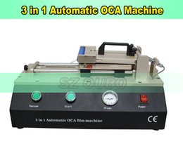 Wholesale Lcd Repair Machine Automatic - New 3 in 1 With Build-in Pump For LCD Repair Machine Automatic OCA And Polarizer Laminating Machine For Phone Replacement