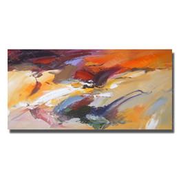 2019 emoldurado reprodução pintura a óleo Único conjunto de arte abstrata pintura a óleo sobre tela para sala de estar decoração pintados à mão pintura a óleo de reprodução sem moldura emoldurado reprodução pintura a óleo barato