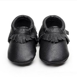 Wholesale Walker Leather Shoe - wengkk store baby first walkers fashion kids casual leather shoes high quality best price free shipping